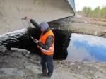 Обследование Мост через р. Гирю-Ламбина